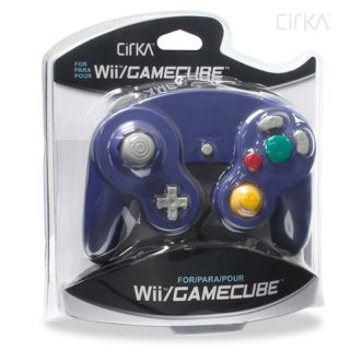 Cirka Purple Wired Controller for Gamecube/Wii