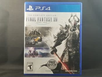 Final Fantasy XIV Online Complete Edition Front