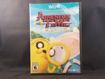 Adventure Time Finn And Jake Investigations Front