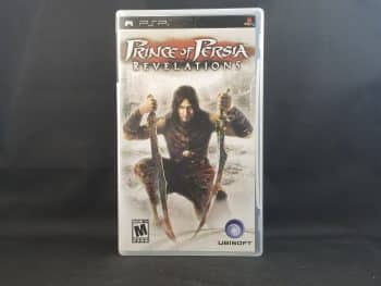 Prince Of Persia Revelations Front