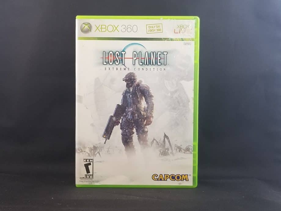 Lost Planet Extreme Condition Front
