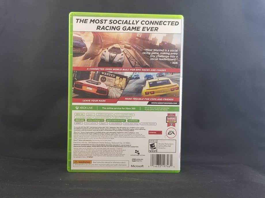 Need For Speed Most Wanted Back