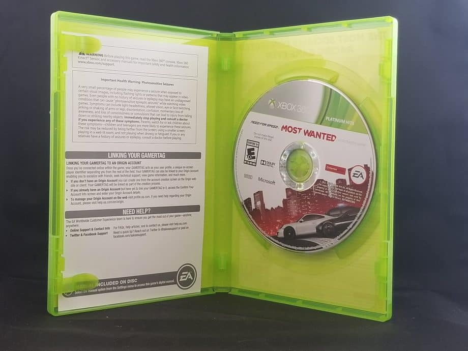 Need For Speed Most Wanted Disc