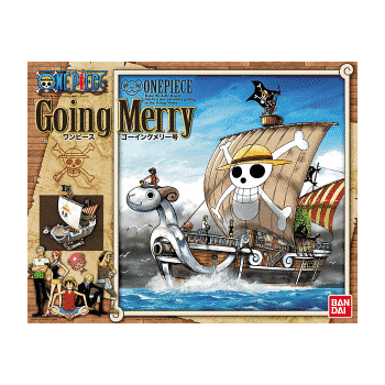 One Piece Going Merry Kit Box