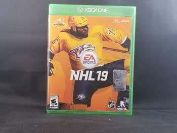 NHL 19 Front
