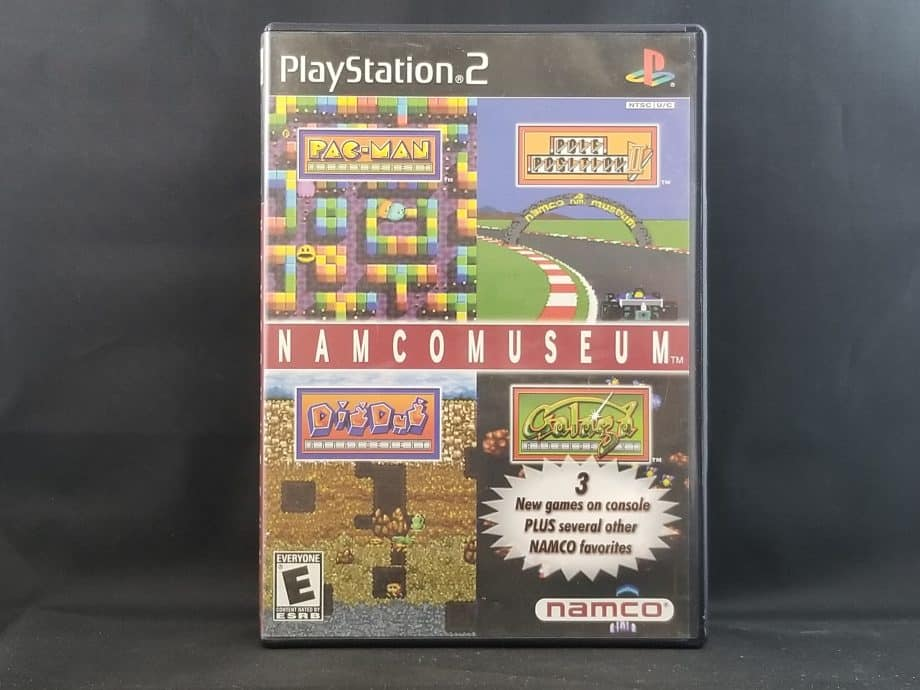 Namco Museum Front