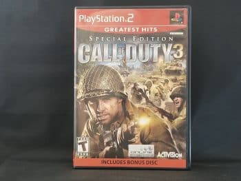 Call Of Duty 3 Special Edition Front
