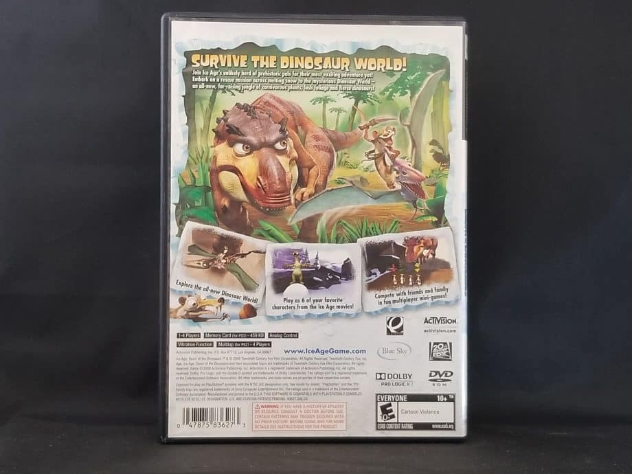 Ice Age Dawn Of The Dinosaurs Back