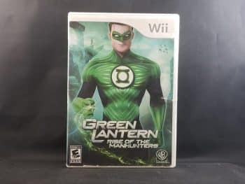 Green Lantern Rise Of The Manhunters Front